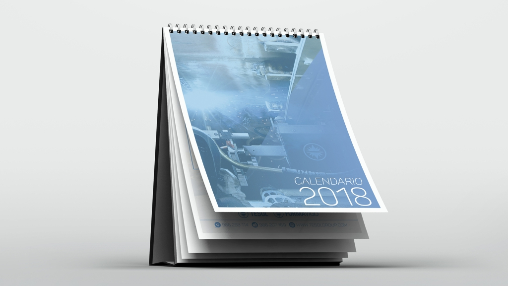 Calendario 2018 Tesol Group