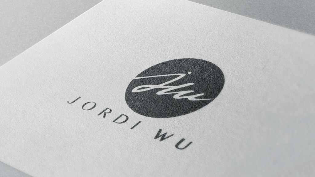 Logotipo Jordi Wu